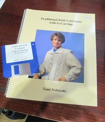 Traditional Irish Cardigans with G-Carriage by Tami Nobuyuki include floppy disk
