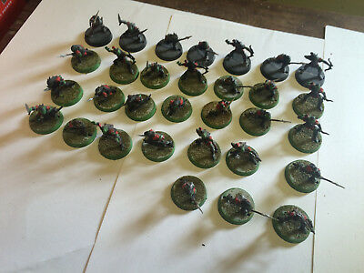 Games Workshop Lord of the Rings Moria Goblin Army painted and assembled