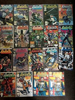 Assorted Lot Of Punisher Limited Series #2