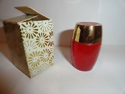 Collectible Avon Charisma Cologne .5 Oz With Box