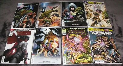 Justice League Dark 1 2 3 4 Wonder Woman 56 57 The Witching Hour 1-5 WW TPB