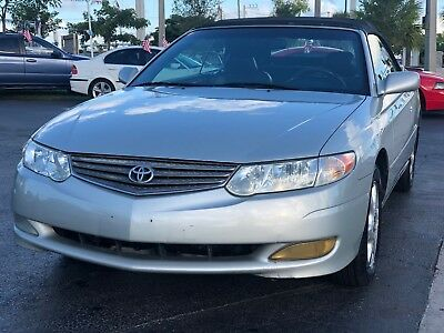 2002 Toyota Solara  2002 Toyota Camry Solara SLE V6 2dr Convertible Cold AC Leather FLORIDA OWNED
