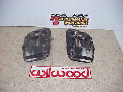 2 Wilwood 4 Piston Aluminum Superlite Brake Calipers Right & Left 120-7429 R1