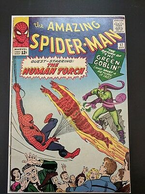 MCU THE AMAZING SPIDER-MAN #17 #19 - VG+ - Second appearance of Green Goblin!