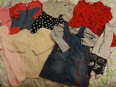 Girls bundle autumn/winter clothing. 12-18 months next etc