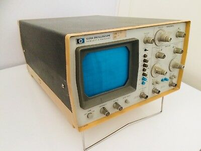 Hewlett Packard 1220A Oscilloscope No Working