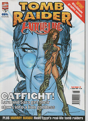 Tomb Raider Witchblade #2 Marvel/Top Cow Comics Michael Turner Cover NM