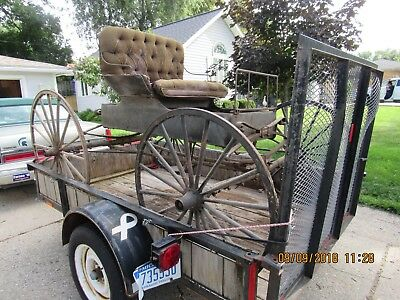 Buggy, Horse Drawn Antique Vintage Buggy