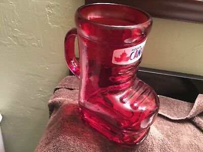 "Molson Canadian 7"" Ice Skate Mug Brand new in Box FREE SHIPPING"