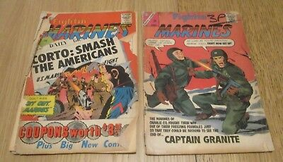 Fightin' Marines (2 Issue) #41 #54  dd.1961/63 - USA