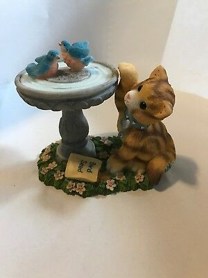 """Calico Kittens """"Friends of a Feather Flock Together"""" new in Box 1998 # 505633"""