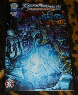 RARE TRANSFORMERS UNIVERSE #2 Direct Market Edition Cover