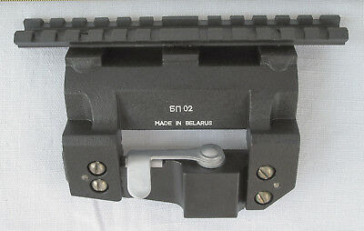 Adapter von Tigr, SKS, SVD, PSL Montage zu Weaver SIDE MOUNT LOW