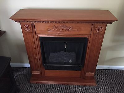 Artificial Fire Place Mantle And Insert