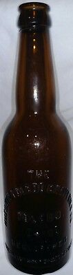 Rare one year only 1934 Huebner Toledo Breweries Co beer bottle Post Pro Era