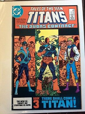Tales of the Teen Titans #44 NM+ 9.6/9.8 1st Nightwing Beautiful High Grade