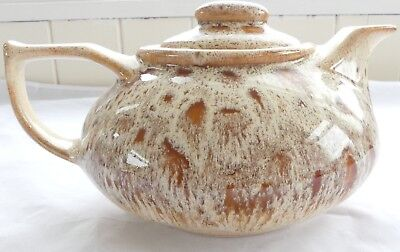 Fosters Pottery Teapot - Honeycomb Design