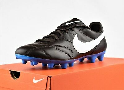 9091fe967 Nike Premier 2 Ii Fg New Men s Kangaroo Leather Premium Soccer Cleats Brown  Blue
