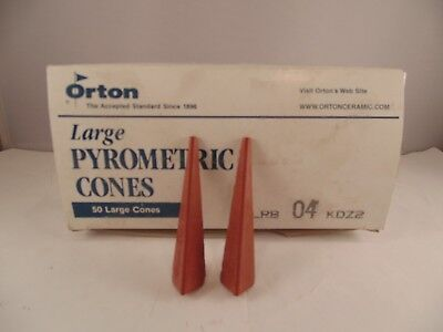 ORTON LARGE PYROMETRIC CONES PACK of 50 LRB 04