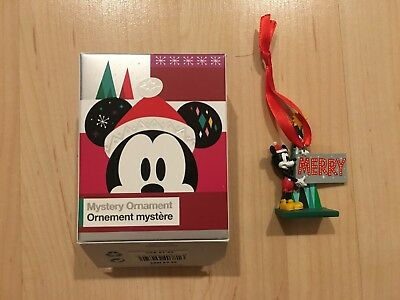 NEW Disney Store US Mickey Mouse and Friends Mystery Ornament 2018 - Mickey