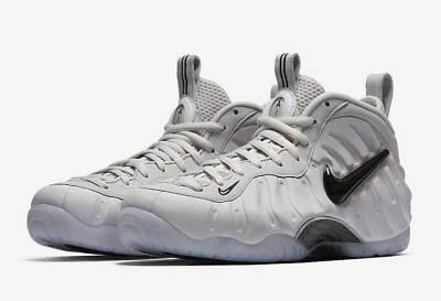 Nike Air Foamposite Pro AS QS Swoosh Pack Size 8 10.5 All Star Grey AO0817 001