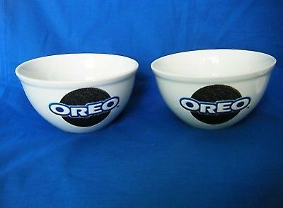 Oreo Cookie Cereal Ice Cream Bowl (Set of 2) by Houston Harvest