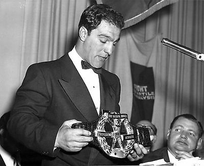 HEAVYWIEGHT CHAMP ROCKY MARCIANO 1953 athlete of the year  8X10
