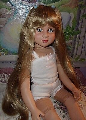 "My Twinn 23"" Poseable Kissy Kate Doll With Customized Freckles"