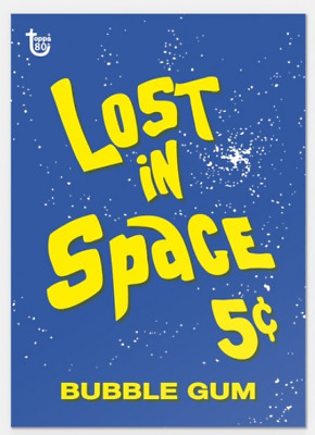 2018 Topps Wrapper Art #29 Lost in Space 1966 80th Anniversary Only 247 Made PS