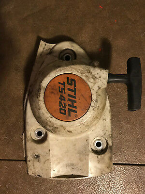Used OEM Starter for Stihl TS410 TS420 Part 4238-130-0300