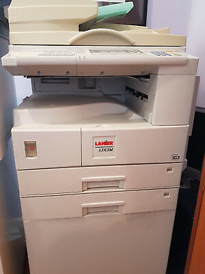 Lanier LD120d Network Printer, Scanner, Photocopier with 2 new cartridges