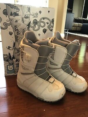 3ffa25c5261b7 NEW! $280 BURTON Felix Womens Snowboard Boots! *Black, White or Gray ...