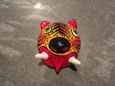 Decorative Coconut Tiger Mask