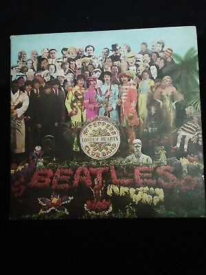 The Beatles - ST. Peppers lonely club band LP mono