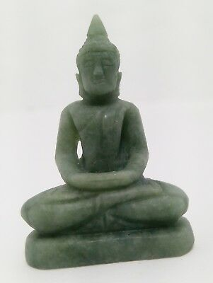 Myanmar Jade Amulet Thai Buddha Old PHRA LP Antique Holy Malaysian POWERFUL