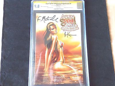 Aspen Splash: 2013 Swimsuit Spectacular #1B Ss Phoenix Con Edition - Cgc 9.8!