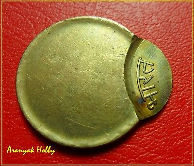 INDIA 5 rupees nickel brass rare and beautiful off center error coin