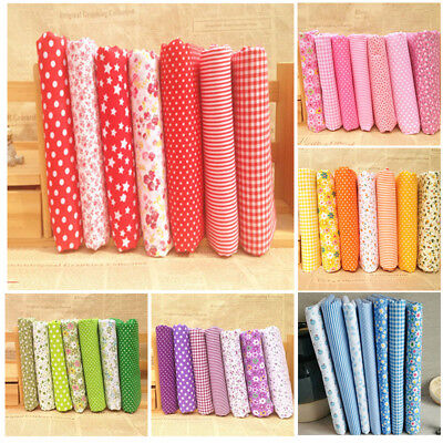 Mixed 100% Cotton Fabric Material Bundle Scraps Offcuts Quilting Quilt Fabric