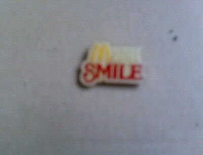 """Pin McDonalds """"Service with a Smile""""  Seltener Pin"""