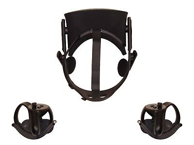 Carbon Fiber Wall Mount for Oculus Rift Headset and Controllers