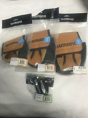 Small /Medium /Large Shimano Spin Reel Cover 1 Small Rod Wrap fishing stella Etc