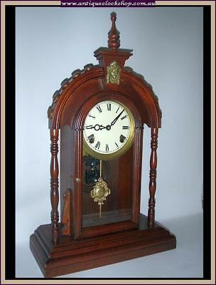 American Parlor Clock Part Of Huge Clock Collection Of 40 Year 120+ Clocks