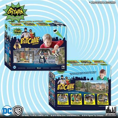 DC Comics Batman Classic 1966 TV Series Batcave Retro 8 inch action Playset NEW!