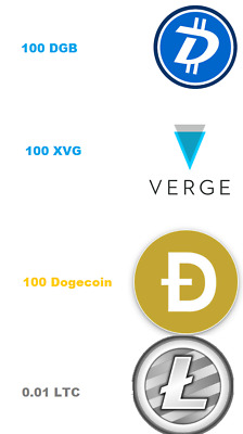 Merged Mining Contract (Verge , DGB , Dogecoin, LTC) (L3 Scrypt)