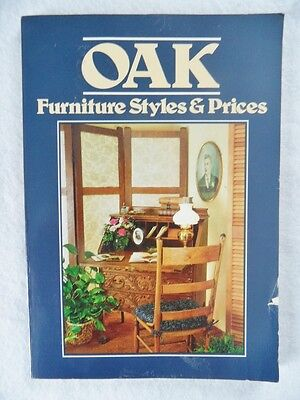 Oak Furniture, Styles and Prices by Wallace-Homestead Co. Staff (1982,...