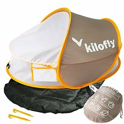 ❤ Baby Kilofly Instant Pop Up Portable Upf 35+ Travel Bed Sleeping Pad 2 Pegs Kf
