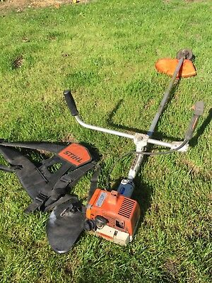 STIHL PROFESSIONAL STRAIGHT SHAFT BRUSH CUTTER / STRIMMER AND HARNESS sthil
