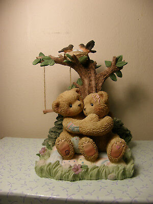 Cherished Teddies AUSTIN AND ALMA 789577 Retailer Exclusive LE of 10,000