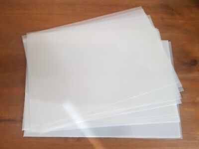 Genuine Mylar 125 Stencil Sheets Re-usable Plastic - Choose Size and Quantity