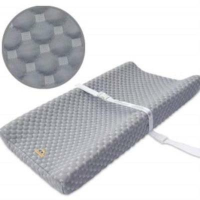 ❤ Baby Super Soft & Comfy Changing Pad Cover For By Bluesnail Gray Machine Washa